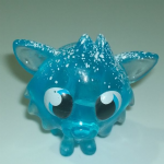 Moshi Monsters #055 White Fang Frostbite blue